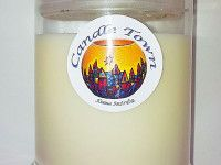 SOY JAR CANDLE - This soy wax candle burns slowly and evenly for a beautiful light and comes in a convenient sealable glass jar available with essential oils with a choice of 36 scents. Burn time = 50+ hours.