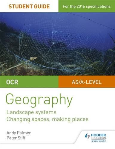 #newbook; OCR AS/A-level Geography Student Guide 1: Landscape Systems; Changing Spaces, Making Places./ Palmer, A.  http://solo.bodleian.ox.ac.uk/OXVU1:LSCOP_OX:oxfaleph020685093