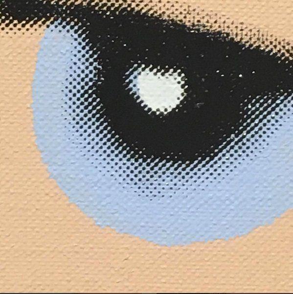 What This Painting Aims To Do. [Henry Gillespie 1985 / Andy Warhol] ~ by Lee Mcclymont 2016. {SPACE} #purebeauty #artgetsbetterwithage #apersonlooksataworkofart #someonelooksatsomething #postconceptualart #genius #andywarhol #johnbaldessari #christopherwool #wadeguyton #mauriziocattelan #leemcclymont #yoga #meditation #vegetariandiet #ayurveda #qigung #abolishslaughterhouses © Lee Mcclymont All Rights Reserved 2016. #cairnsregionalgallery #nationalgalleryofaustralia #kunstmuseumbasel…