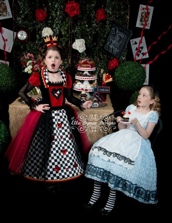RESERVED CUSTOM Alice in Wonderland Costume Tutu by EllaDynae $250+