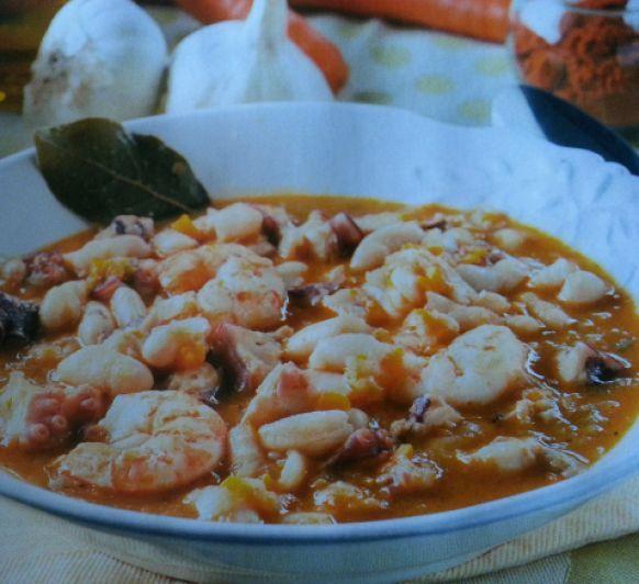 ¡¡¡¡FABES CON PULPO¡¡¡¡, una receta de Legumbres y platos de cuchara, elaborada por MARIA MAR DE CASTRO LOPEZ. Descubre las mejores recetas de Blogosfera Thermomix® Madrid Mendez Alvaro