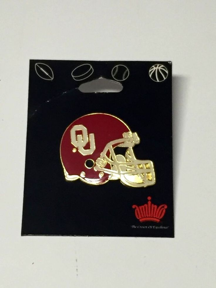 Vintage Oklahoma Sooners OU Football Team Pin Lapel Brand New Sealed by Aminco | Sports Mem, Cards & Fan Shop, Fan Apparel & Souvenirs, College-NCAA | eBay!