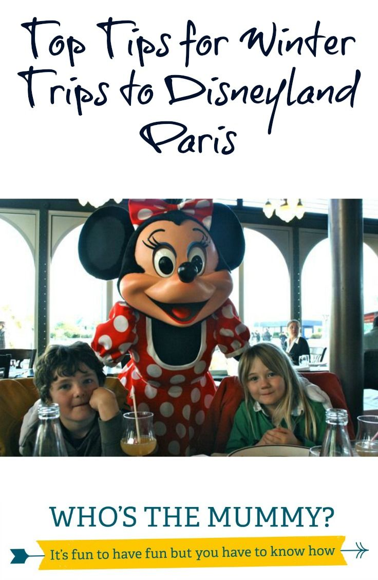 Here are our top tips if you're going to Disneyland Paris during a cold snap...