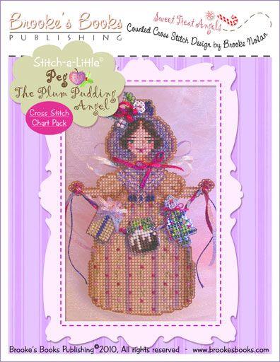Brooke`s Books Publishing  Peg the Plum Puddingt Angel/ цена 692 рубля