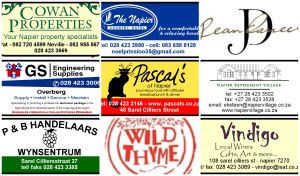 Some of the Sponsors for the Napier Patatfees - 14 June