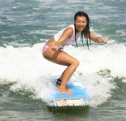 Bali Surf Travels: Serangan Beach - Good Place for Beginner Surfer