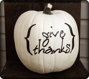 Need this stencil.: Fall Pumpkin, Thanksgiving Centerpiece, Thanksgiving Decoration, Pumpkin Idea, Fall Decor, Painted Pumpkin, Halloween Pumpkin, White Pumpkins, Front Porches