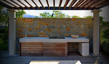 Concrete Outdoor Kitchens Design Ideas, Pictures, Remodel, and Decor - page 3