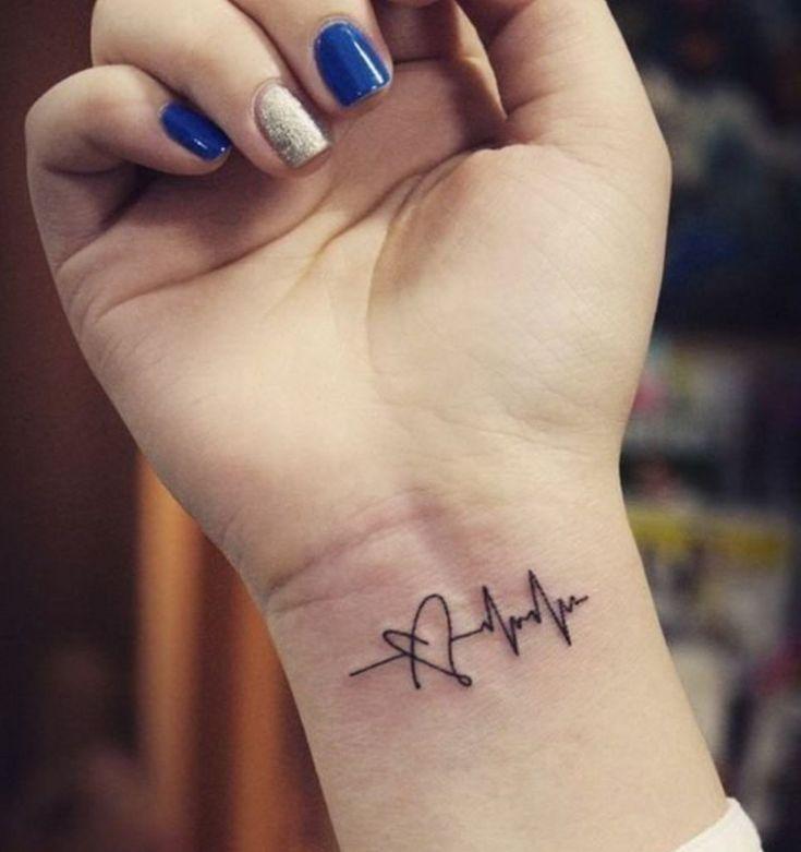 Tato Simple Keren Di Pergelangan Tangan Tattoo Design