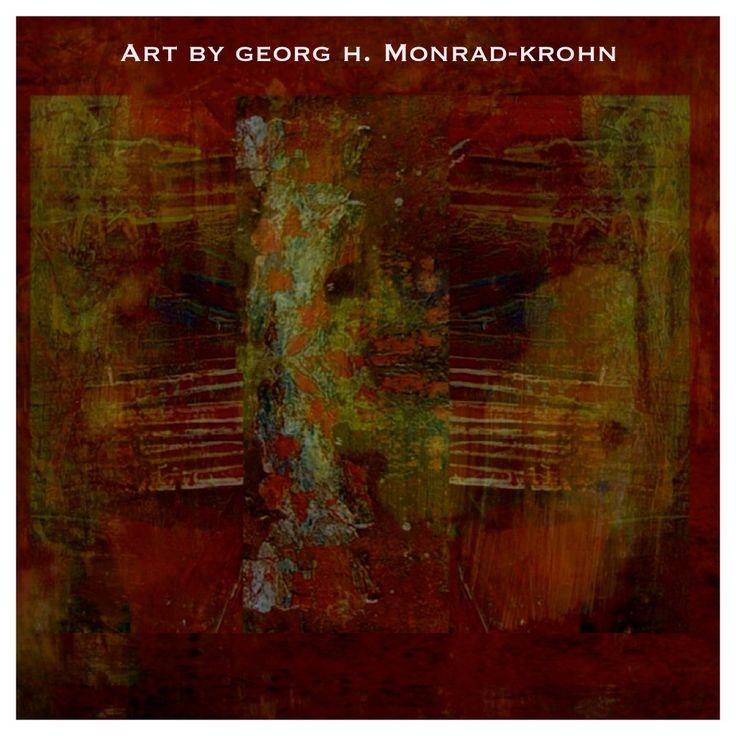 Art by Georg H. Monrad-Krohn. Norwegian painter and mixed media artist. #georgherman