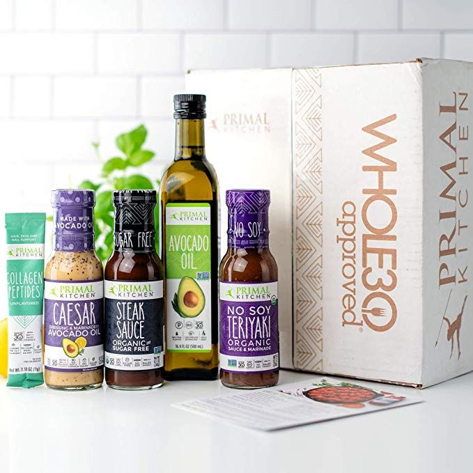 Amazon Com The Primal Kitchen Whole 30 Subscription Box Memberships And Subscriptions In 2020 Primal Kitchen Real Ingredients Organic Sauce