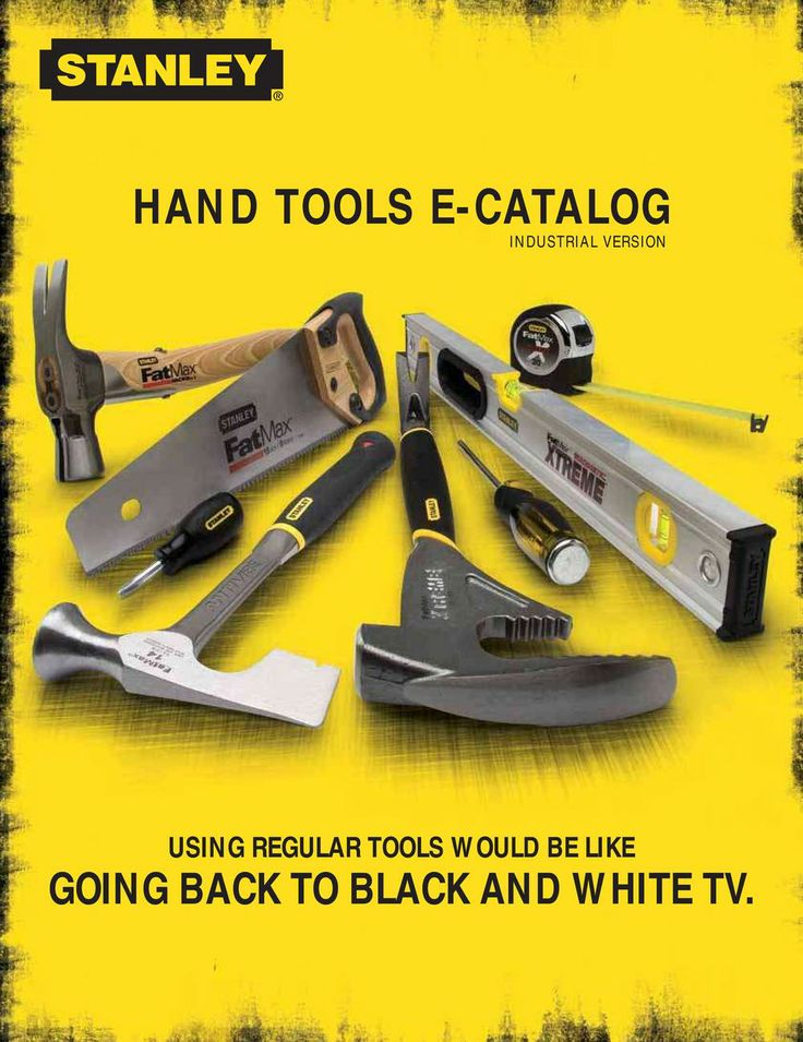 Stanley Tools UK...