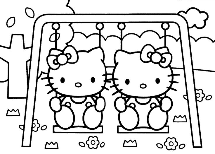 jeux de coloriage hello kitty | Liberate