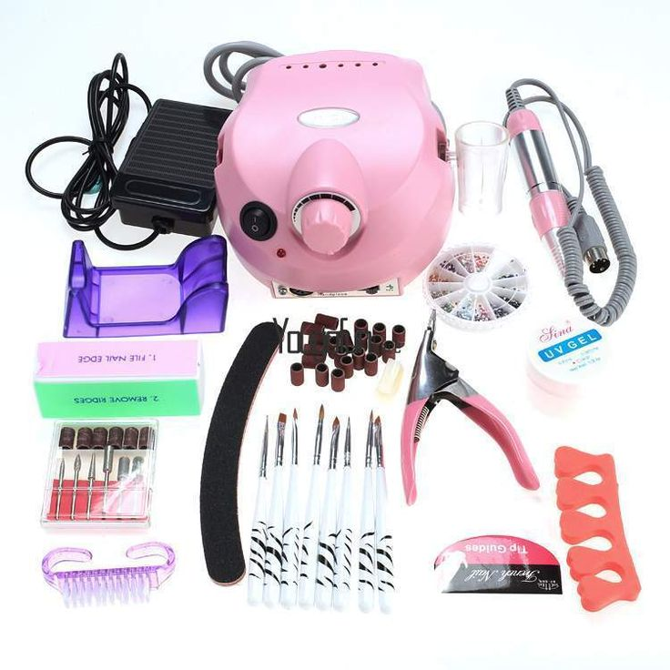 Professional Electric Nail File Drill Manicure Tool Pedicure Machine Set Kit New #New #SalonBeautyshop