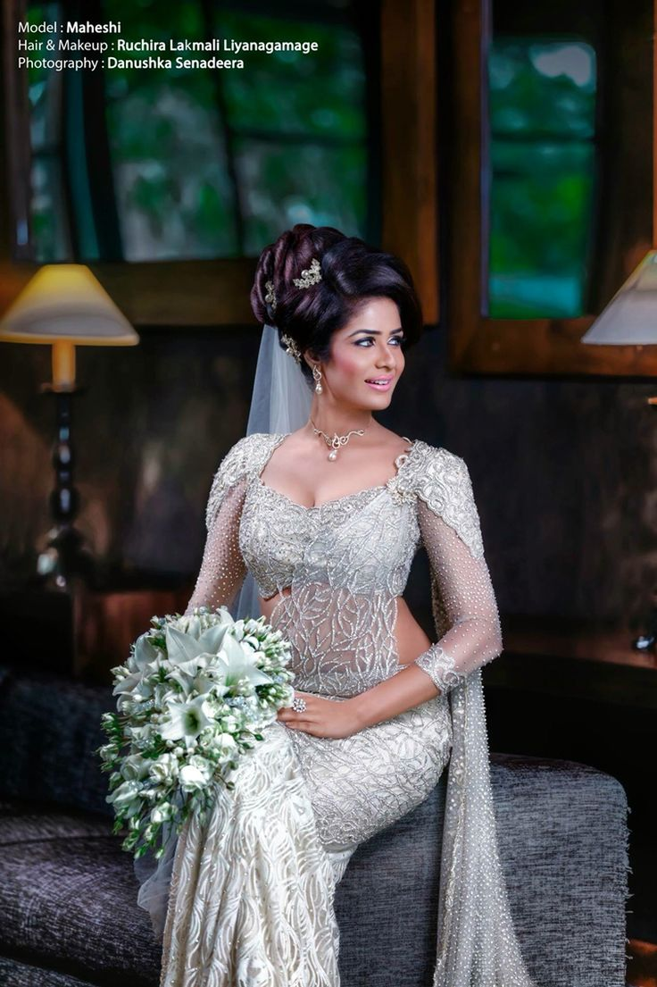 #srilankanwedding #modernkandyan #bridalsaree