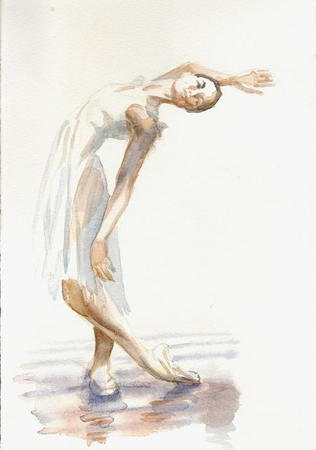 ballet sketches | ballet dancer sketch #3 | Flickr - Photo Sharing!