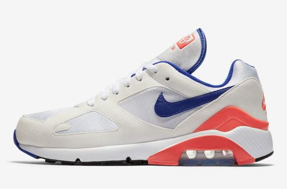 Official Look At The Nike Air Max 180 OG Ultramarine Releasing In February        The Nike Air Max 180 in its original colorway of Ultramarine is making a triumphant comeback this year in celebration of 2018 Air Max Day. The ... http://drwong.live/sneakers/nike-air-max-180-og-ultramarine-official-images/