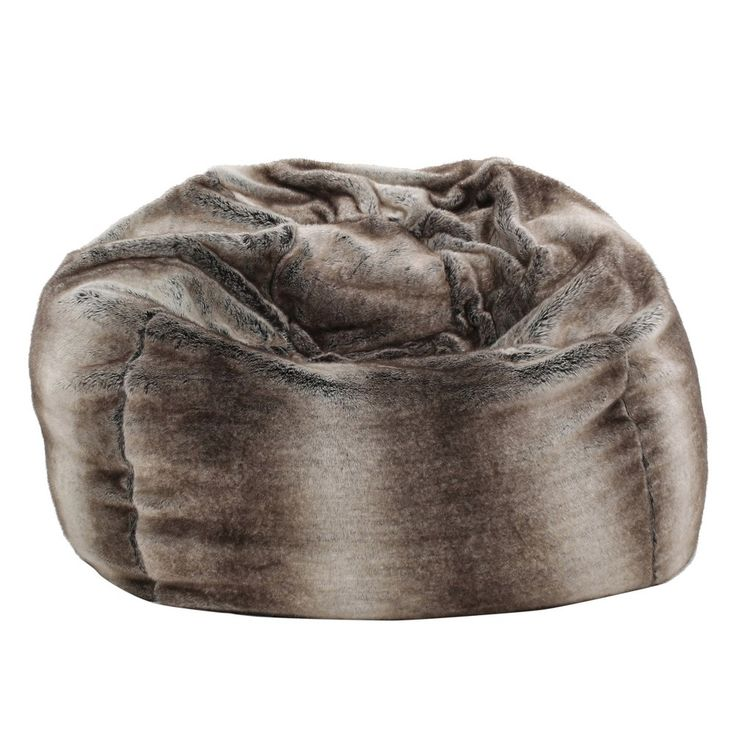 Monroe Bean Bag   Brown/Grey   Christopher Knight Home Amazing Pictures