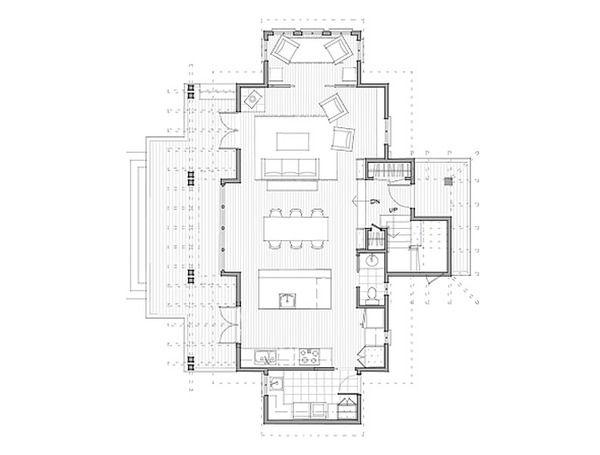 Elegant Craftsman Style House Plan   3 Beds 2.5 Baths 1914 Sq/Ft Plan #479