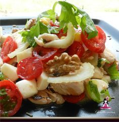Insalata di pollo, Ricetta insalata gustosa, Ricette insalate miste, Insalata mista, Ricetta insalata, Insalata di patate, Verdure crude, Insalate estive,