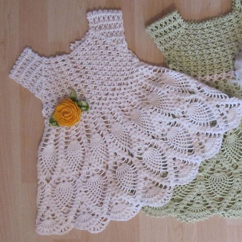 Crochet Baby Winter Dress Pattern : Best 25+ Crochet baby dress pattern ideas on Pinterest ...