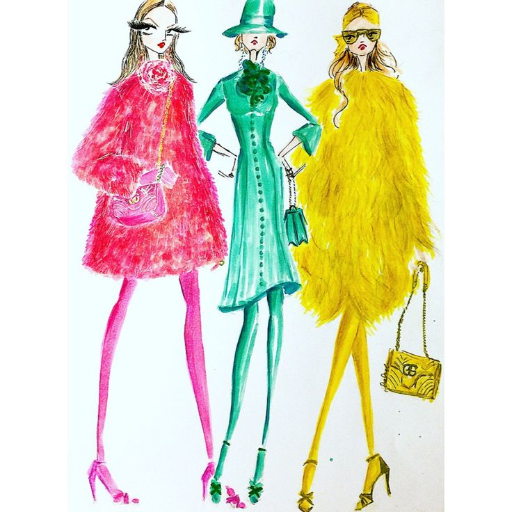 Gucci F/W 2016 Curated.Works: From Runway To Sketch F/W 2016 Milan Part 1 by Karen Koh