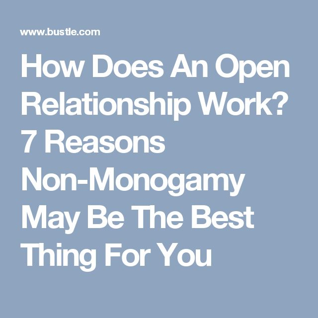 term for open relationship