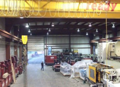 Staging and Storage of Machinery and Equipment