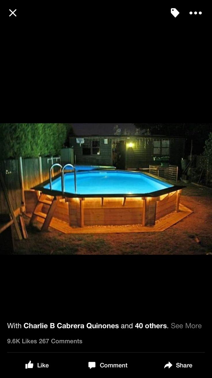 17 best images about above ground pools on pinterest for Pool oval aufstellbecken