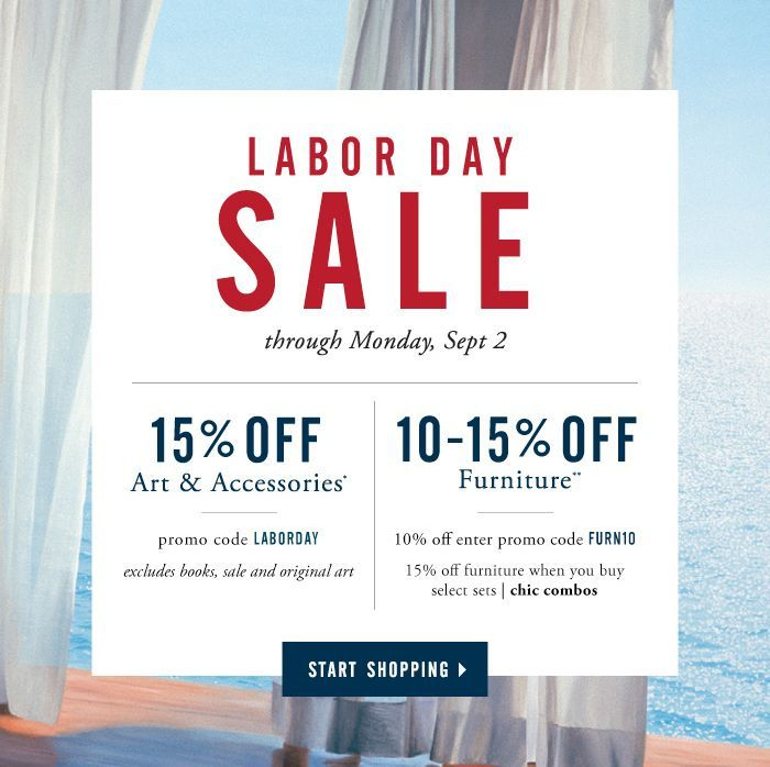 Labor Day Sale Starts Now! Click Through To Save Now Through Monday,  September 2