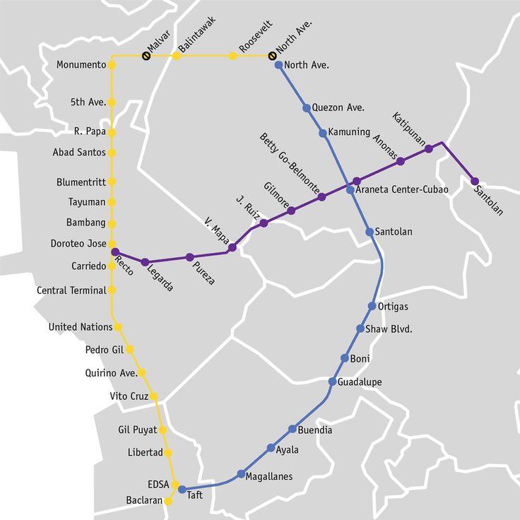 Le #métro de #Manille, aussi connu sous le nom de MRT 3, fut inauguré le 15 décembre 1999. Il a  une ligne et 13 stations. Le métro dessert le réseau ferré, les bus et les ferries. Vous pouvez vous rendre de l'aéroport à la station la plus proche en un bus à la station Taft Avenue. Le métro ouvre de  4 h 30 à 22 h 40. Les prix varient entre 13 et 100 Pesos Philippins. Evitez les heures de pointe pour éviter d'être mal à l'aise dans le métro. Vous pouvez apporter des canettes avec vous. Les…