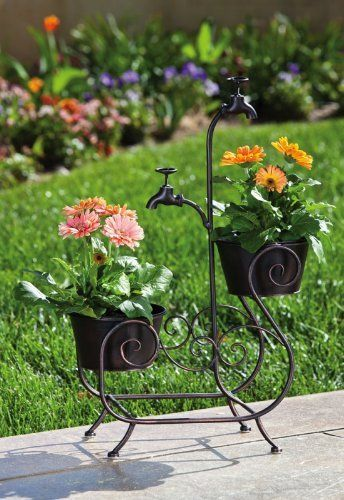 Pot Holder Plant Stand,Metal,18.5x8.25x27 Inches by Ashley. $89.99. Save 33%!