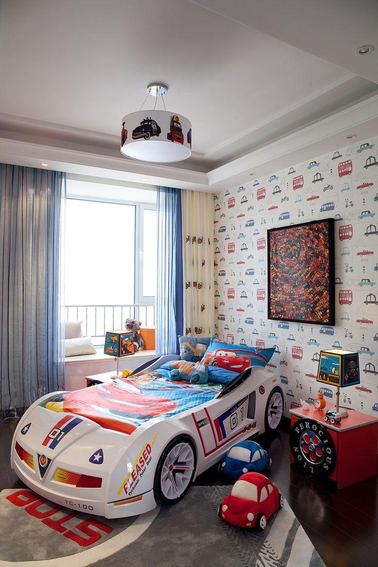 恩嘉陈设--青岛·海上嘉年华样板间 高清摄影 C3 儿童房