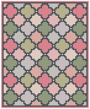C2C crochet pattern - Corner to corner - C2C crochet - Geometric blanket Afghan…