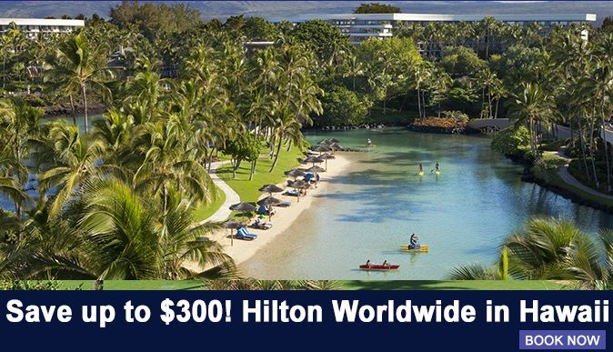 When visiting Hawaii you deserve the best and Hilton hospitality is the best.