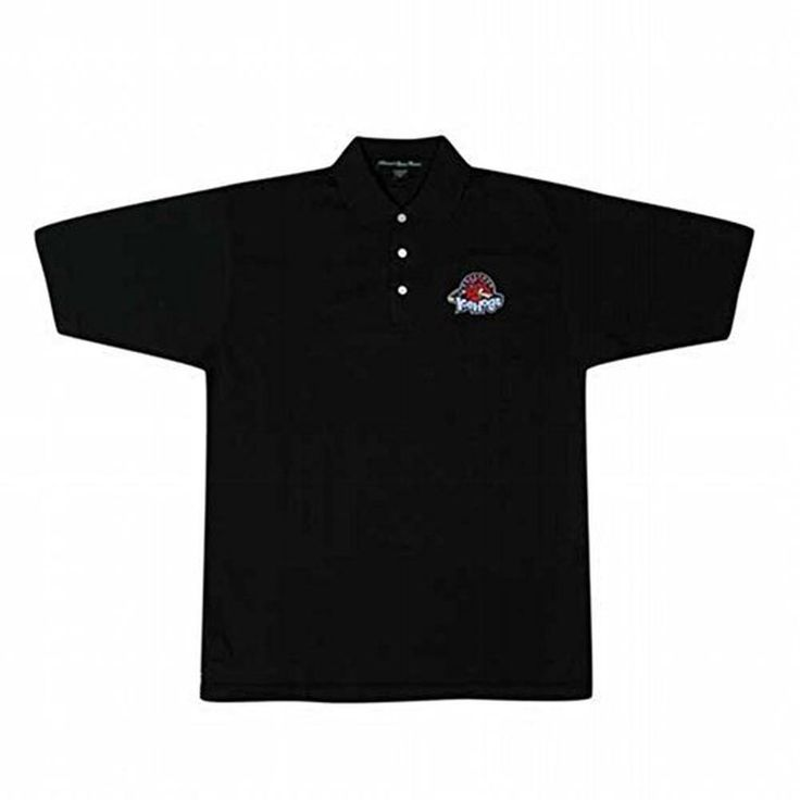 Rockford IceHogs - Logo Black Polo T-Shirt