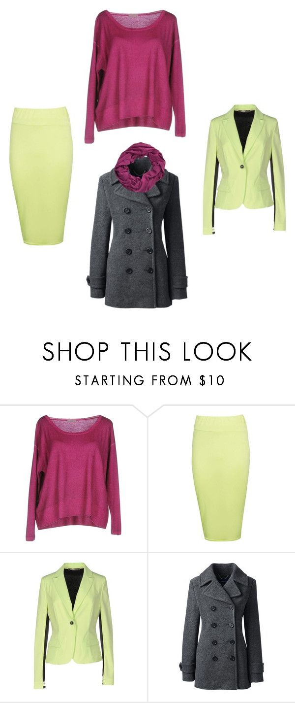 """""""November, Cool Winter Colors"""" by shawnseepk ❤ liked on Polyvore featuring Cruciani, Boohoo, Pianurastudio, Lands' End and ibex"""