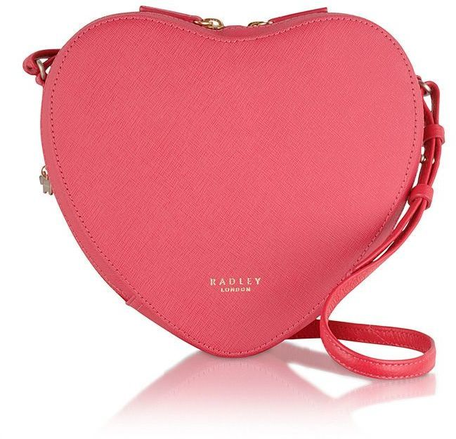 Radley British heart foundation red crossbody bag