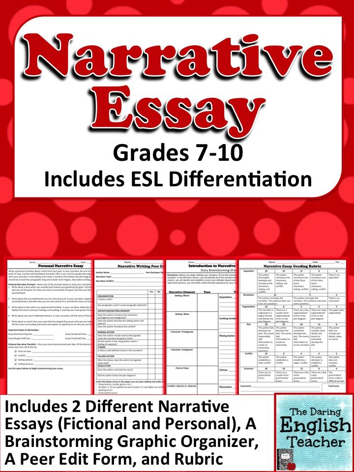 personal narrative 123 essays for me