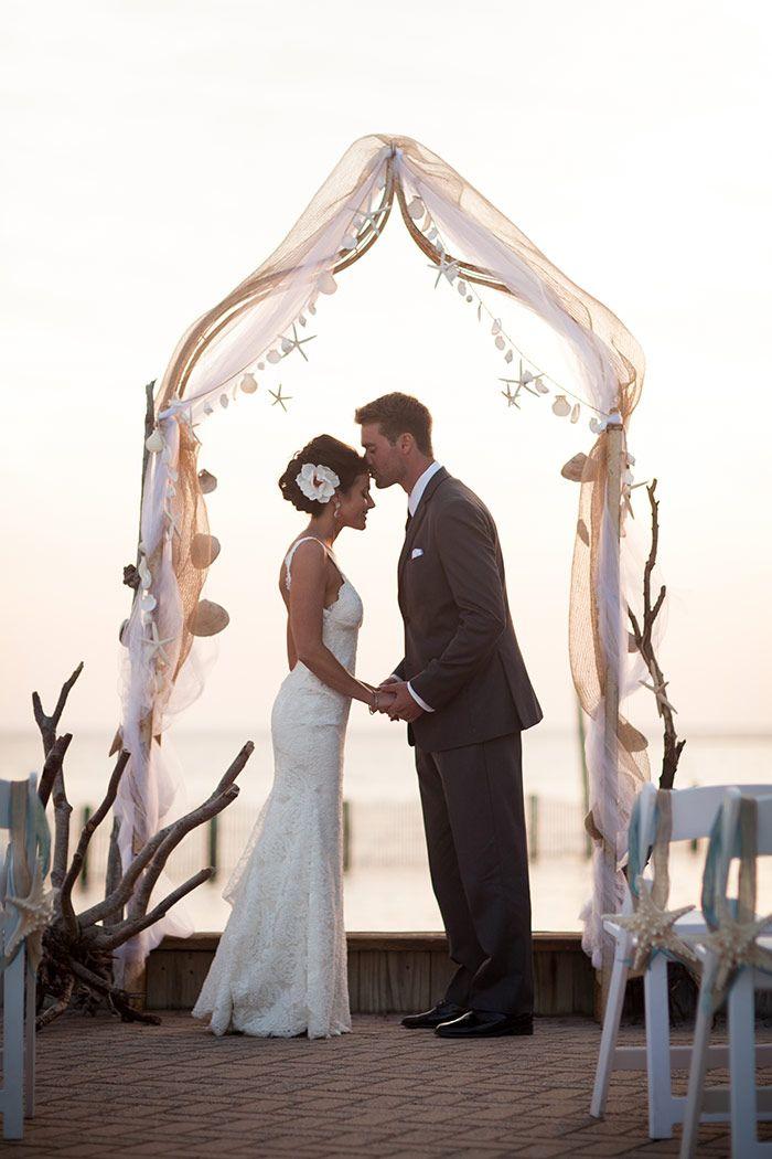 Blair and Brian's Beautiful Beach Wedding at Brant Beach Yacht Club, Long Beach Island