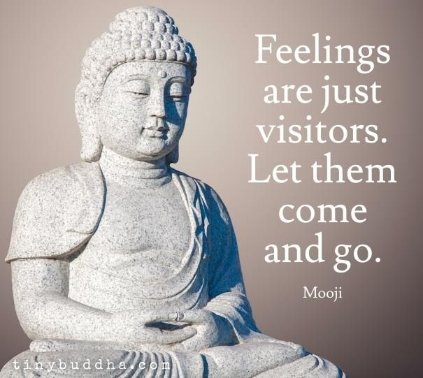 Mooji - Feelings are just visitors. Let them come & go
