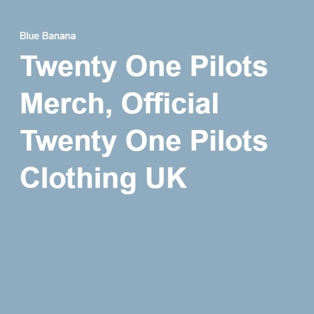Blue Banana: complete collection  Twenty One Pilots Merch, Official Twenty One Pilots Clothing UK