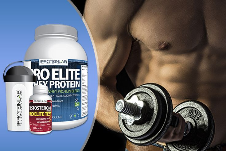 28-day* Whey Protein & Testosterone Booster Bundle