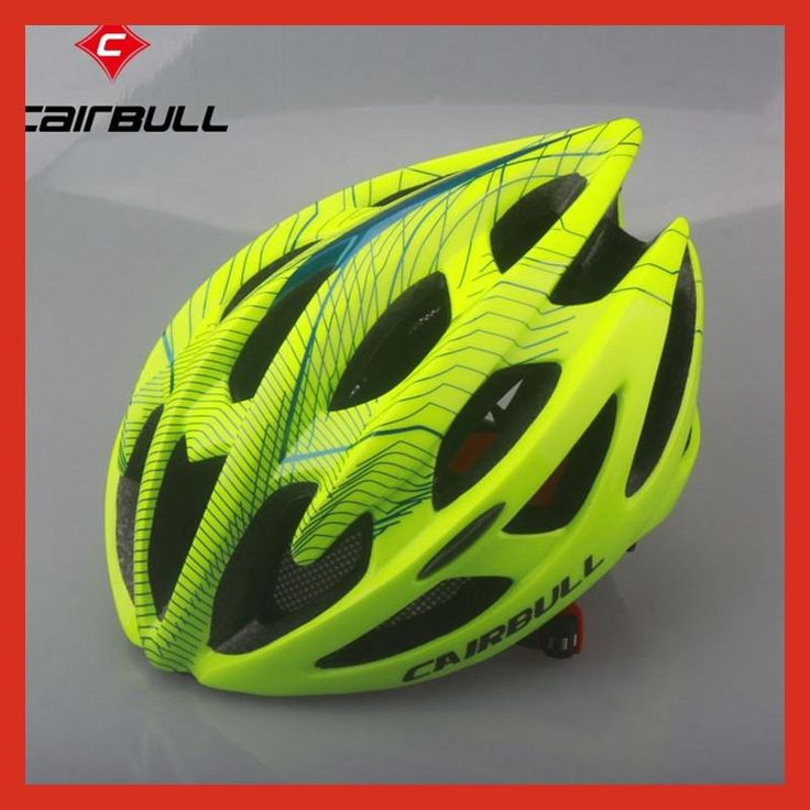 Cycling Helmet Road Mountain Cycle Helmet In-mold 21 Vents Bicycle Helmet Ultralight Bike Helmet Casco Ciclismo CAIRBULL-01 M&L