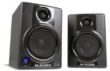 "M-Audio Studiophile AV40 Powered Monitor Speakers (Latest Version) - M-Audio Studiophile AV40 Powered Monitor Speakers (Latest Version)    It has 4"" polypropylene-coated woofers for tight, accurate bassIt has 1"" ferrorfluid-cooled solk cone tweeters"