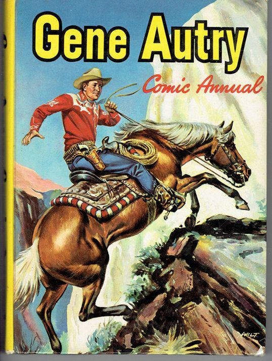 VINTAGE TREASURE - Gene Autry Comic Annual