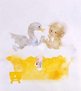 Iwasaki Chihiro. Japanese illustration children, flowers, animals オフロデチャプチャプ