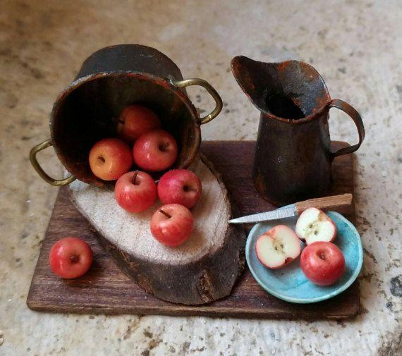 Etsy の Natura morta con mele by LeminidiClaudia