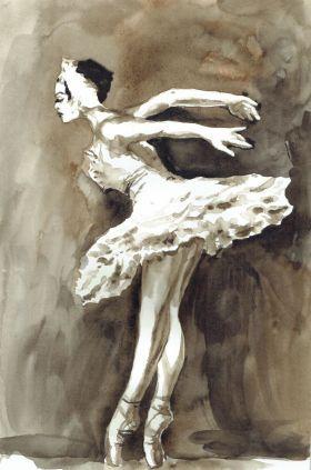 BALLERINA VII by Nicolas GOIA