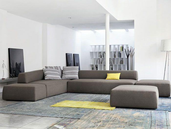 Sectional Upholstered Sofa By Mauro Lipparini Sofa インテリア